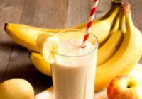 smoothie a banán