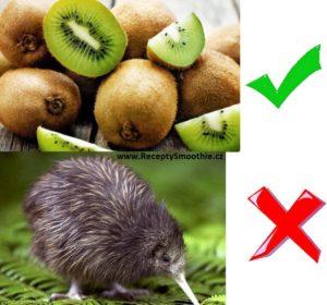 kiwi - ovoce x zvíře?