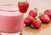 recept na jahodové smoothie